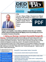 blended learning with bb spring 2015 wakjira