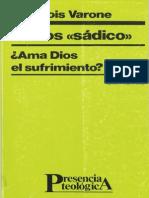 Varone Francois El Dios Sadico