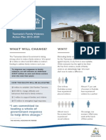 Safe Homes Safe Families - Fact Sheet
