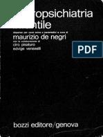 Neuropsichiatria Infantile [1980] - Maurizio de Negri