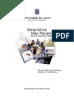 Estatistica Não Parametrica_testes de Hipoteses e Medidas de Associação