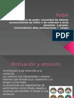 Emocion y Motivacion