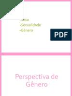 Slides Questão de Gênero
