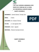 Exposicion Informe SANIDAD.. DISTOCIA