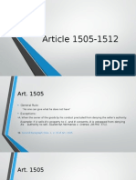 Article 1505-1512