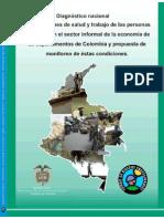 Diagnostico Nacional de Condiciones de Salud y Trabajo de Las Personas Ocupadas en El Sector Informal de La Economía
