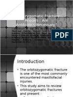 Orbitozygomatic Fracture Repairs-FER