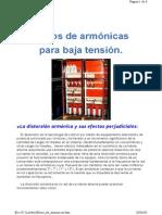 Filtros de Armonicas
