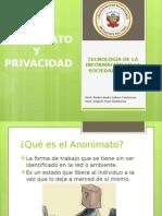 4. Anonimato