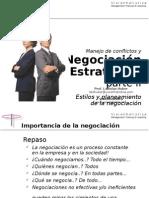 Conferencia Negociacion Estrategica Parte II Estilos y Preparacion