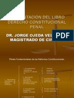 Presentación Libro Derecho Constitucional Penal