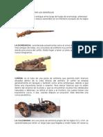 Armas Utilizadas Por Los Españoles
