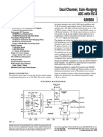 Dual Channel, Gain-Ranging ADC with RSSI