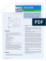 Flyer - RCS-924 Stub Differential Relay