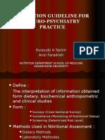 Praktikum Neuro 2013 1