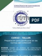 Curso de Peparacion Certificacion Docente Agosto 2015