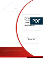 Performance Testing AJAX-based Applications