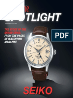 Watch Time Magazine Spotlight Grand Seiko