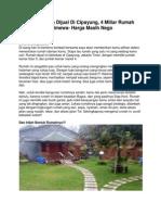 Iklan Rumah Dijual Di Cipayung, 4 Miliar Rumah Istimewa- Harga Masih Nego