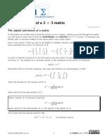 Sigma Matrices