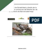 Diagnóstico de Estabilidad y Diseño de La Estructura .