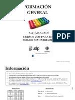 Dci Catálogo Cursos Udp Para Uah 2015-1 (1)