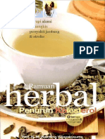 Ramuan Herbal Penurun Kolesterol Oleh Prof H. Hembing W. KBO
