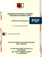 Ingenieria  Geotecnica Forense