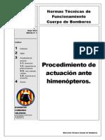Procedimiento Actuacion Himenopteros