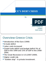 Greece's Debt Crisis