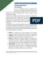 Panorama de Administraciòn
