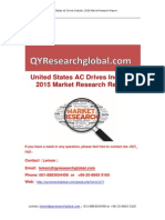 United States AC Drives Industry 2015 Market Research Report