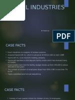 Excel Industries Case
