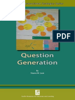A Book on Question Generation