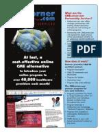 CMEcorner Partnership Services Flyer