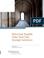 Delivering Value From Strategic Initiatives