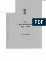 Land Aquisition Act 1894
