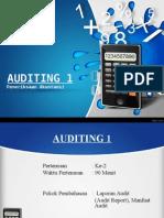 Auditing Ke-2 Laporan Audit