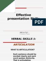 Presentation Skills- Latest