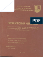 Production of Nitric ACID