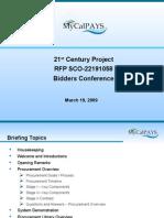 Bidders Conference Presentation Final