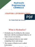 CEWB223 Chap1 - Introduction