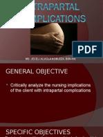 Intrapartal Complications