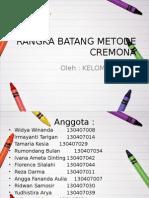 Rangka Batang Metode Cremona
