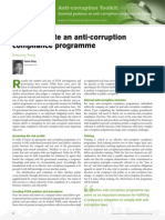 Anti-corruption & Bribery Toolkit 2015