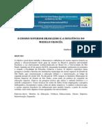 O ENSINO SUPERIOR BRASILEIRO E A INFLUÊNCIA DO MODELO FRANCÊS
