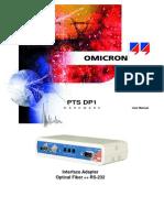 Pts Dp1 Manual