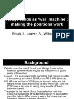 Hedge Funds as Wm Sase Presentation 16july09
