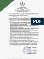 Hasil Seleksi PMB Gel 2 Th 2015