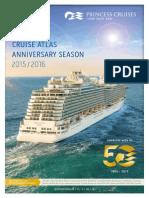 Princess Cruises katalog 2015-2016